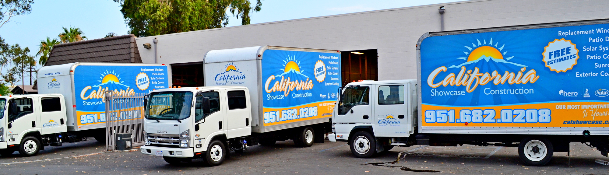 California showcase trucks