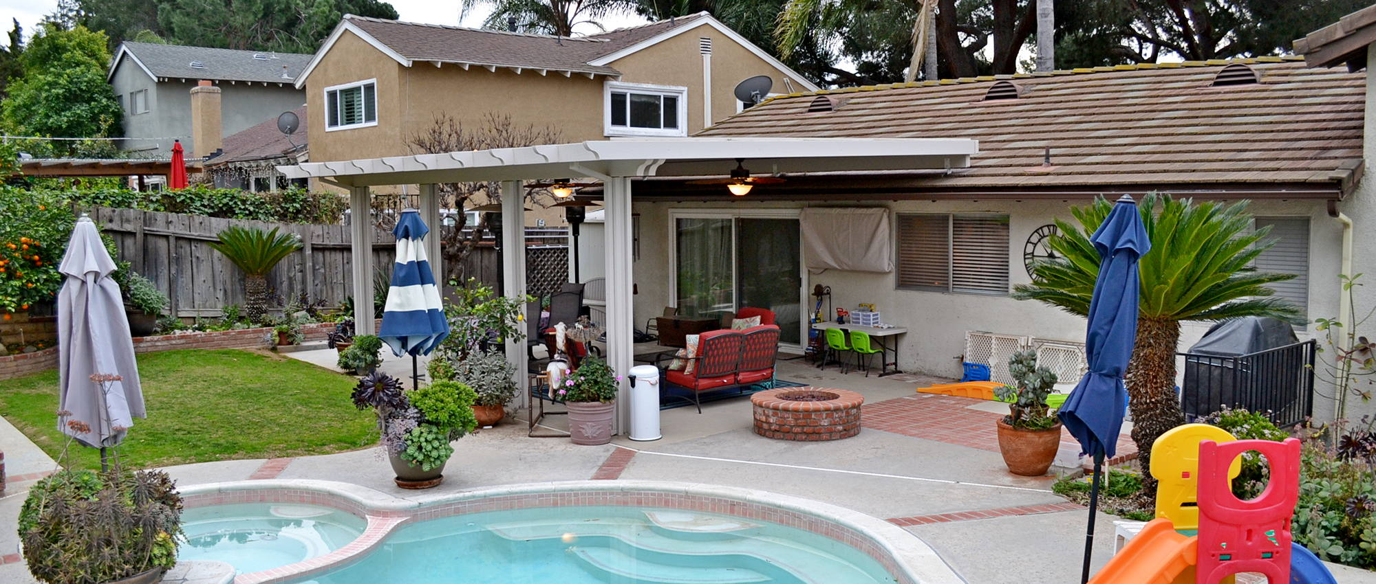 Project Patio Cover And Malibu Glass Door Replacement In