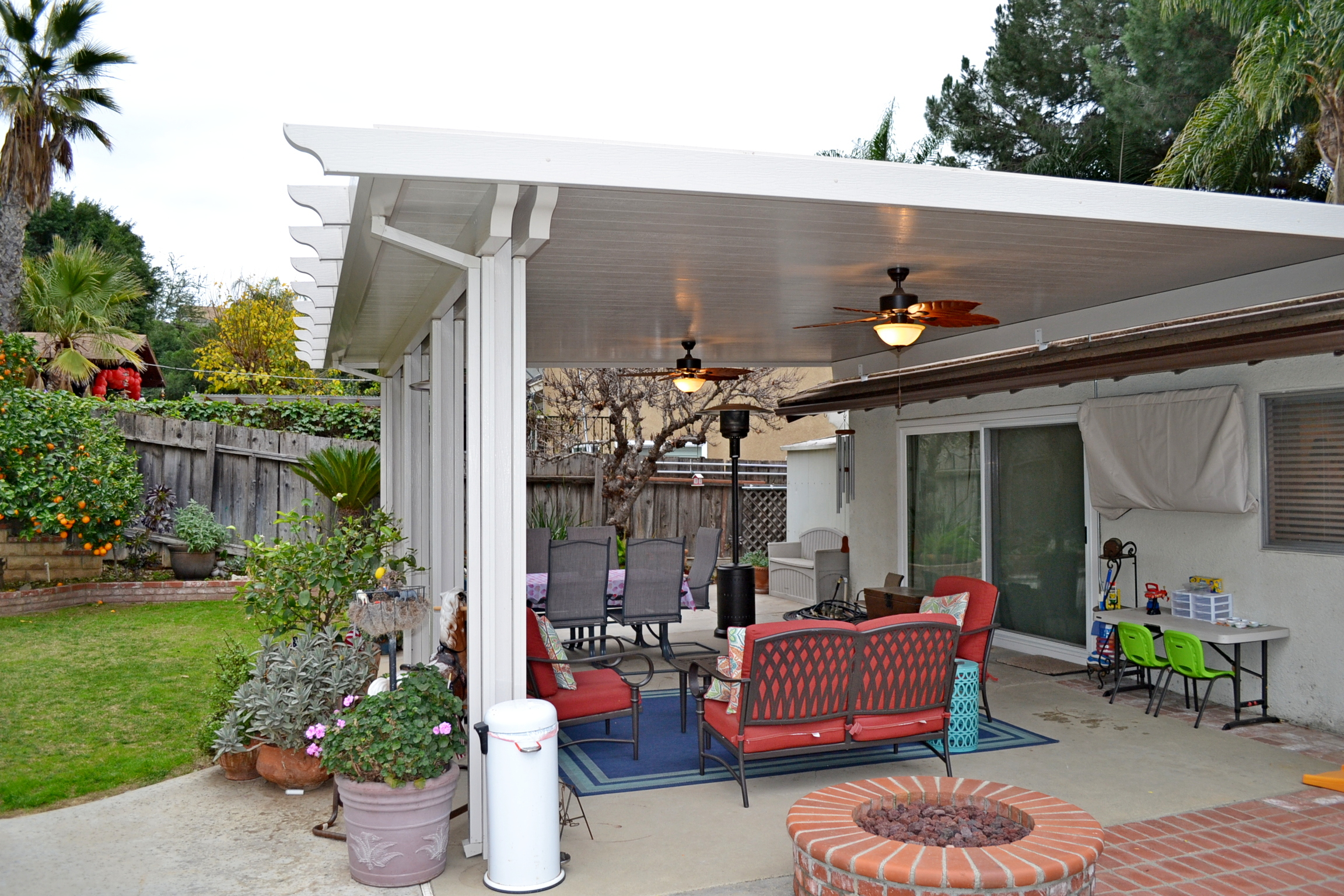 Project: Patio Cover and Malibu Glass Door Replacement Corona
