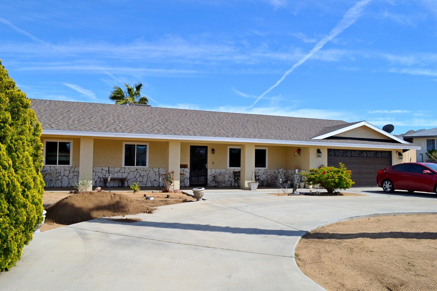 Project: Window Replacement and Texture Coating in Yucca Valley