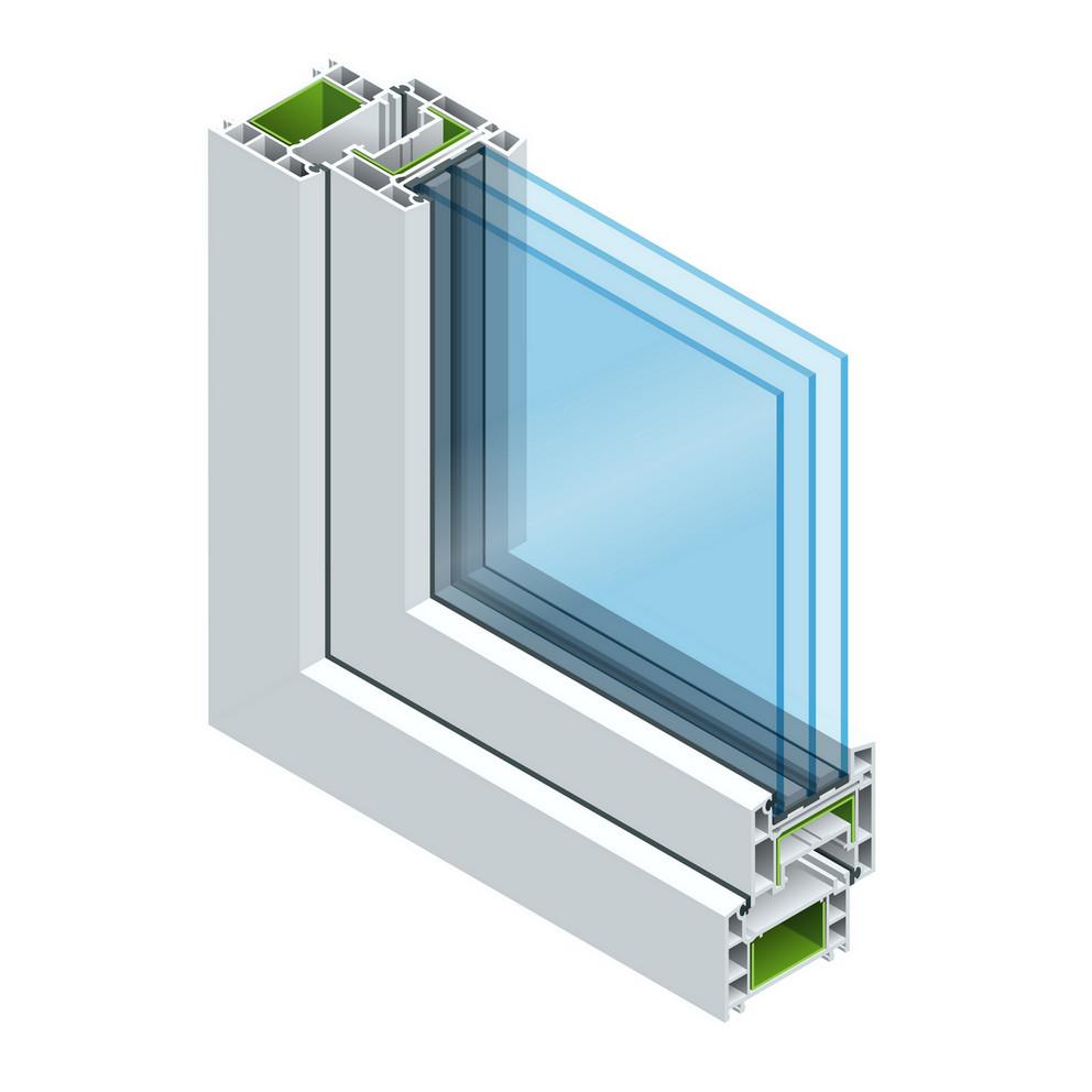 Triple-pane window