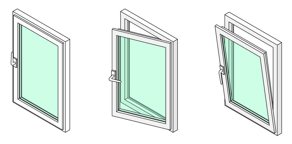 Casement window diagram